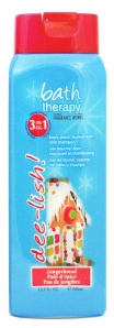 Bath Therapy dee-lish Gingerbread 3-in-1 Body Wash, Bubble Bath, and Shampoo
